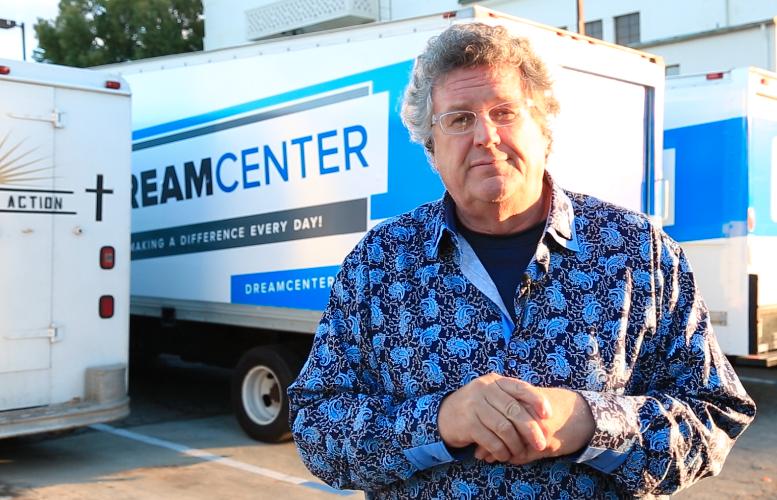 Michael at the Dream Center in LA