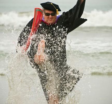 Michael making an education splash